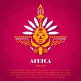 Art Background ethnique tribal africain Illustration Libre de Droits