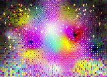 Art Background psychédélique abstrait coloré Vecteur Illustratio Image stock