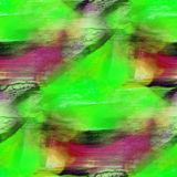 Art background watercolor seamless texture green Royalty Free Stock Photo