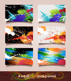 Art backgrounds Royalty Free Stock Photography