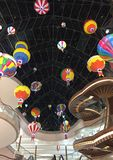 Art of balloons royalty free stock photography