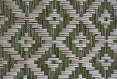 Art-Bambuswand des Musters gebürtige siamesische Lizenzfreies Stockfoto