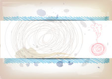 Art banner design Royalty Free Stock Image