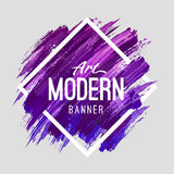 Art Banner moderne illustration stock