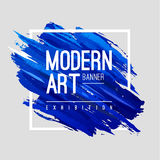 Art Banner moderno Imagen de archivo