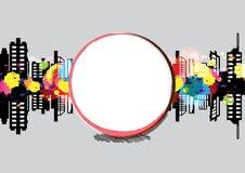 Art banner urban design Stock Image