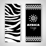 Art Banners tribal africain illustration stock