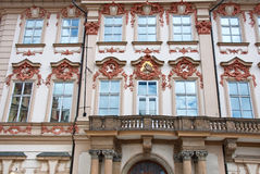Art of Baroque architecture details stock photos