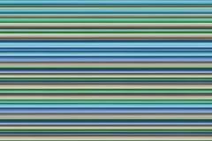 Art bas coloré de conception de rayures vertes beiges lilas bleues rayées de fond horizontal image stock