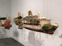 Art Basel Expo 2017 imagen de archivo