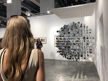 Art Basel Expo 2017 fotografía de archivo