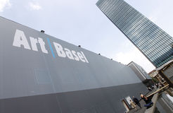 Art Basel 2013, the most important Art Trade Fair in the World Royalty Free Stock Photos