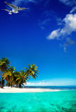 Art  beautifu seaside view  background Royalty Free Stock Photo