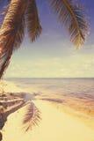 Art  beautiful retro seaside Royalty Free Stock Image