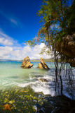 Art  beautiful  Tropical coast  beach Royalty Free Stock Image
