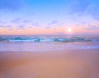 Art Beautiful tropical sea  landscape Royalty Free Stock Image