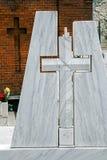 Art Begräbnis- Kreuzes 1 Stockbilder