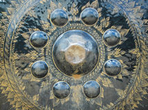 Art on bell metal Royalty Free Stock Photo