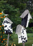 Art bird houses Stock Photo