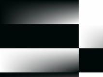 art black checkerboard gradient one op white ελεύθερη απεικόνιση δικαιώματος