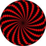art black op red rotating windmills ελεύθερη απεικόνιση δικαιώματος