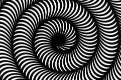 Art black and white spiral abstract pattern background Royalty Free Stock Image