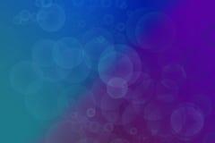 Art bleu coloré Illustration de Vecteur