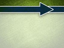Art blue arrow on green background. Art blue arrow on green illustration background vector illustration
