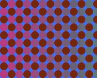 art blue circles gradient op red Στοκ Φωτογραφία