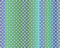art blue circles green light op thousand Στοκ Φωτογραφία