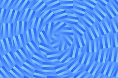 Art blue color spiral abstract pattern background Stock Photo