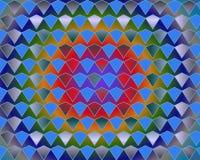 art blue diamonds gradient gray op over Στοκ φωτογραφίες με δικαίωμα ελεύθερης χρήσης