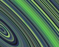 art blue generative green hues outer rings Στοκ Εικόνες