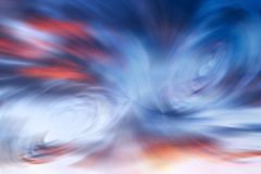 Art abstract futuristic space pattern. Art blue and red abstract futuristic blur space pattern Royalty Free Stock Image