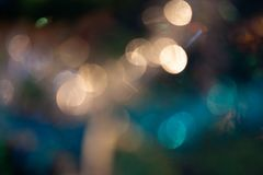 Art Bokeh Background in color Stock Image