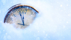 Art 2017 bonnes années de veille Photographie stock