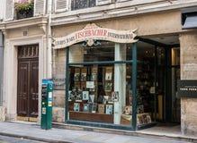 Art book store on rue de Seine, Paris, France Royalty Free Stock Photography