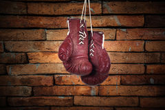 Art boxing glove for home decoration Stock Photography