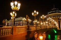The Art Bridge Royalty Free Stock Photo
