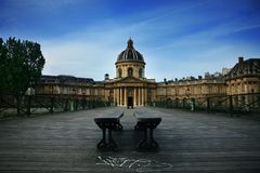 Art Bridge Paris Royalty Free Stock Photos