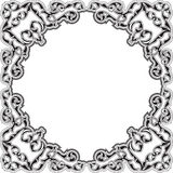 The art brilliant victorian frame Stock Image