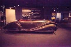 Art 1937 Browns Delahaye 135 Mitgliedstaat Special Roadster lizenzfreies stockbild