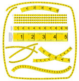 Art Brush �Measuring tape� Stock Images