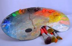 Art Brushes imagens de stock