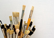 Art brushes Stock Photos