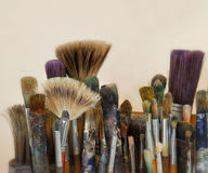Art Brushes Stock Photo