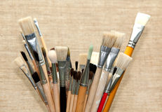 Art brushes for drawing Royalty Free Stock Images