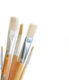 Art brushes isolated Royalty Free Stock Images