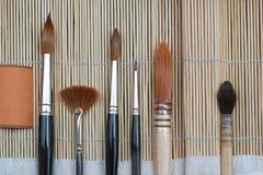 Art Brushes Royalty Free Stock Photo