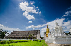 The art of Buddhism religion in the architectural. Royalty Free Stock Image